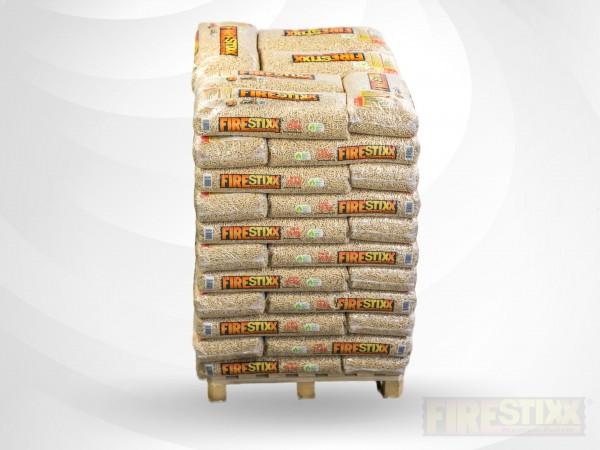 FireStixx Holzpellets Sackware 15 kg Palette